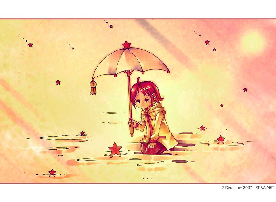 Rain of Stars by zeiva