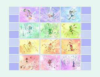 Stars Calendar by zeiva