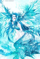 Sea Goddess by zeiva
