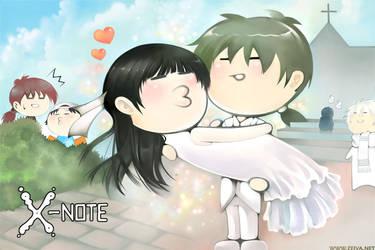 X-note - Wedding by zeiva