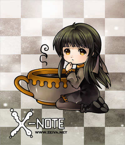 X-note - Sticker I by zeiva