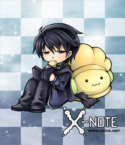 X-note - Sticker II by zeiva