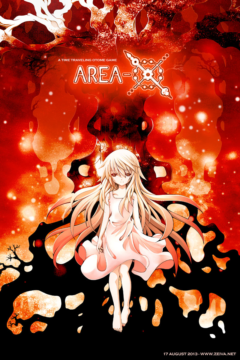 Area-X - Red Forest by zeiva