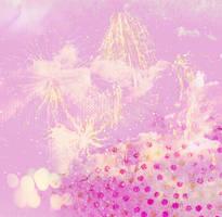 Pink Cloud Fireworks Texture by lexiibabii01