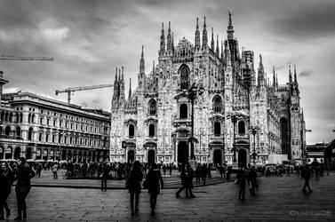 Milan - Duomo by olideb08
