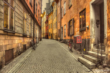 Street of Stockholm by olideb08