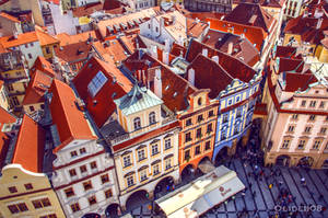 Roofs of Prague III by olideb08