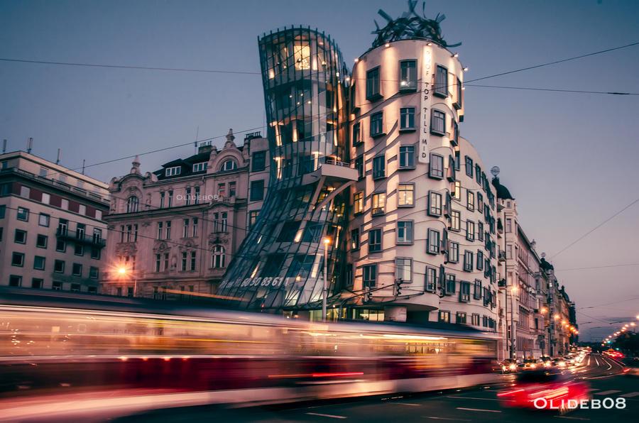 Prague - Dancing house II by olideb08