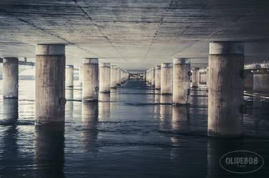 Stockholm - Under the bridge