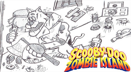 Scooby-Doo on Zombie Island Title Card by Whyboy