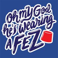 Oh my God he's wearing a FEZ by weallscream4icecream