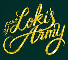 Loki's Army (typography) by weallscream4icecream