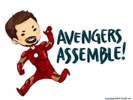 Avengers Assemble! by weallscream4icecream