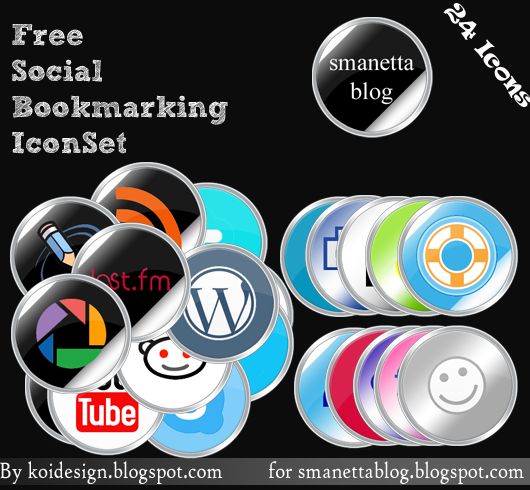 Round free social bookmarking by koidesign