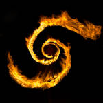 Swirling Flames