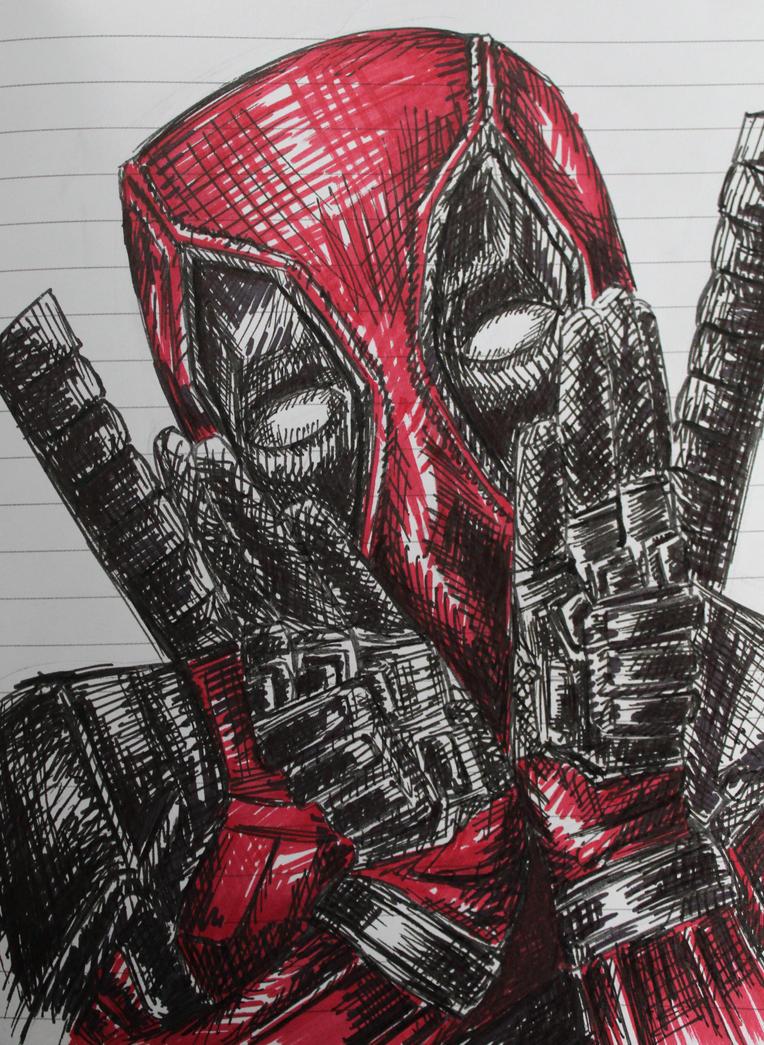 Deadpool! by GreenNebulae