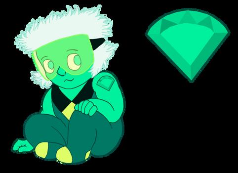 Green Spinel: Gemling Adopt D4