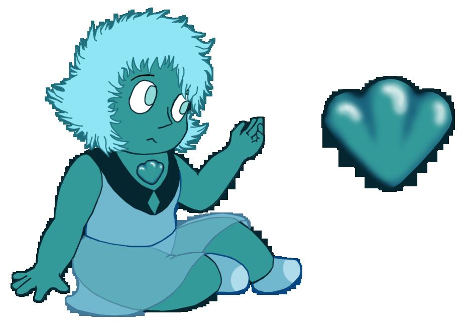 Teal Kyanite: Gemling Adopt E4 by UmbraFoxPaws