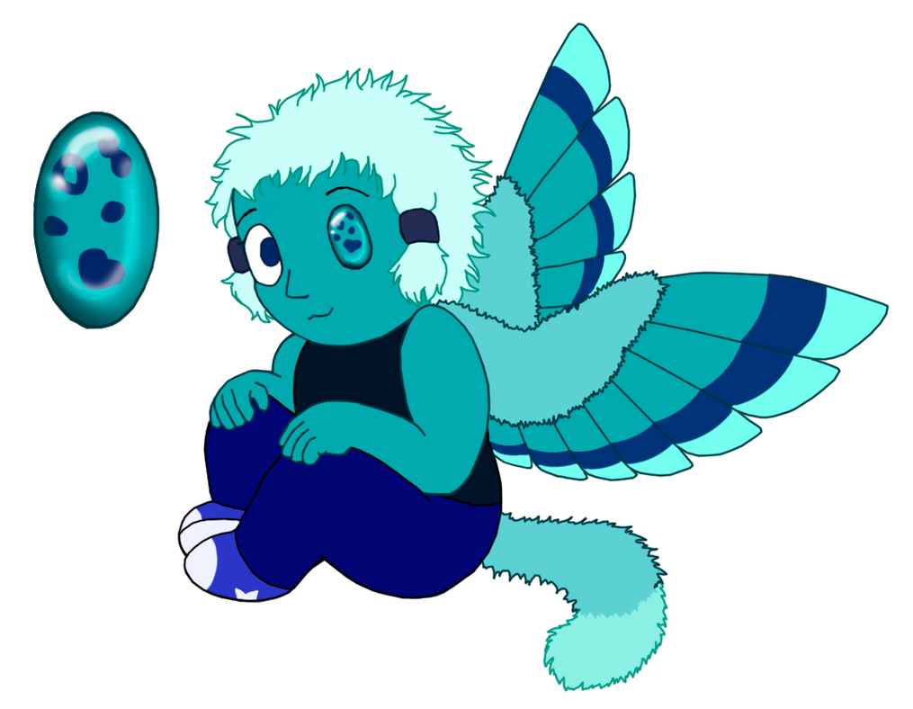 Custom OC Gemling Adopt: Chrysocolla by UmbraFoxPaws