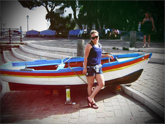 Me and the boat