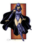 Raven of Teen Titans Colors