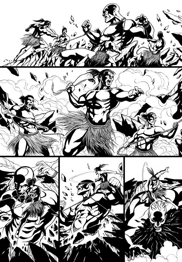 The Man Who Fell To Earth Inks Page 2 by SorahShibao
