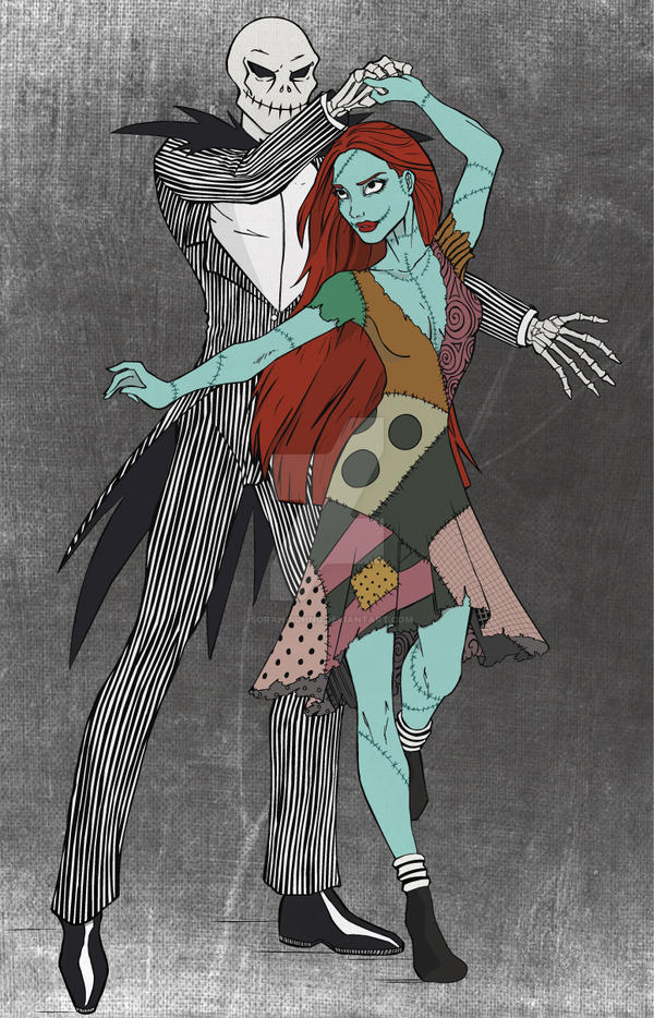 Jack and Sally Colors by sorah-suhng on DeviantArt