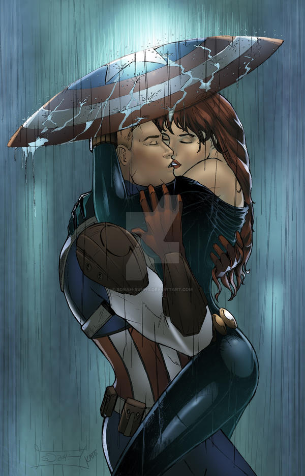 does black widow and captain america relationship