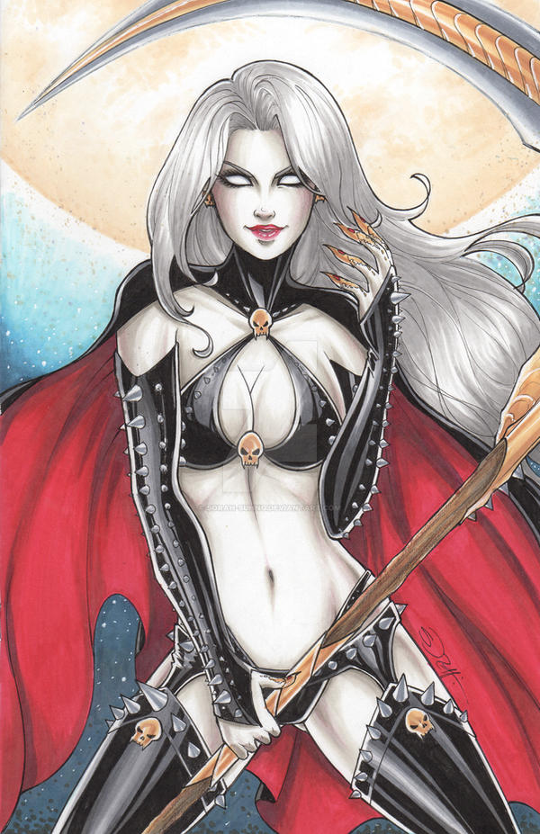 Lady Death 1 of 5 by sorah-suhng