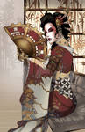 Lady Mechanika Geisha Colors