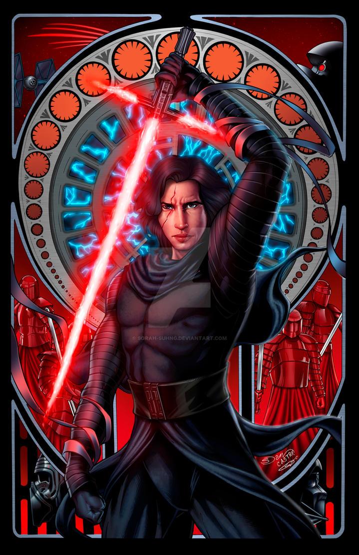 Star Wars Mucha Kylo Ren by sorah-suhng