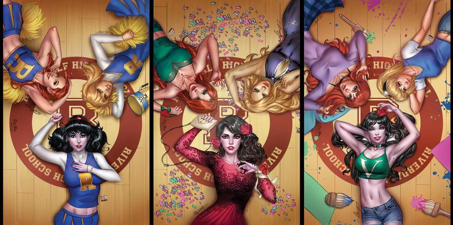 Vampironica Triple Set by sorah-suhng