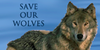 Save-our-wolves Group Icon by WolfPawCreator