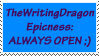 TheWritingDragon Epic Stamp by TheWritingDragon