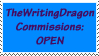 TheWritingDragon Commissions Open by TheWritingDragon