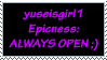 Stamp for yuseisgirl1 by TheWritingDragon