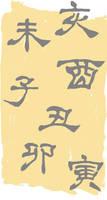 Custom Box Background - Ancient Writing
