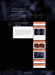 Wordpress theme for Idris-Elba.net