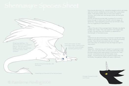 Shennavyre Species Sheet