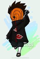 Chibi Tobi by sasukekakashi12