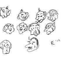 Practice Cartoon Heads