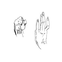 Anatomy Study, Hand 2