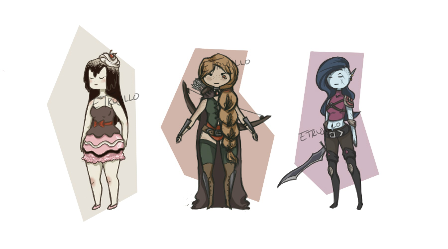 Adventure Time Adoptables (1/3 Available) by ETrujillo
