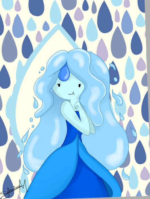 Raindrop Princess !!! by ninammm1