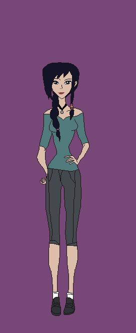 Aiyana Valencia (Monster Allergy OC) by TF2fan2015
