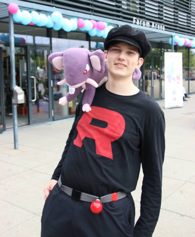 Rocket Grunt and his Rattata by oohcoo