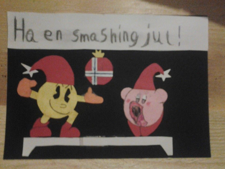 Handmade smash 4 christmas card by oohcoo