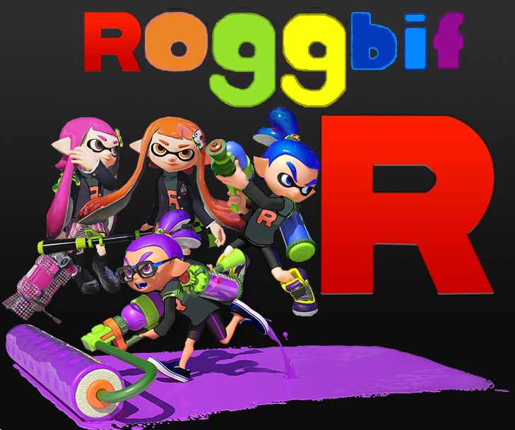 Splatoon - Team Roggbif logo by oohcoo