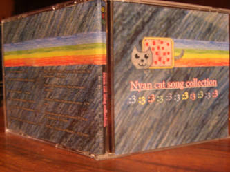Nyan cat CD cover by oohcoo