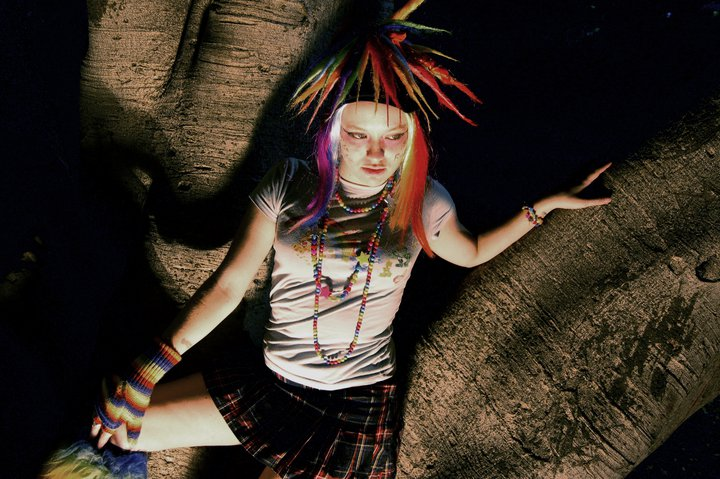 i know this pretty rave girl № 648155